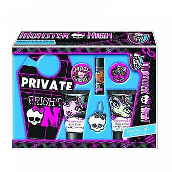Monster High Case Girls Shower Gel + Body Lotion + Accessories