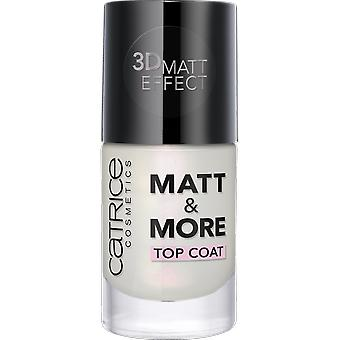 Catrice Cosmetics Matt & More Top Coat (Femme , Maquillage , Ongles , Traitement)