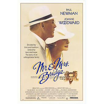 Mr & Mrs Bridge Movie Poster (11 x 17)