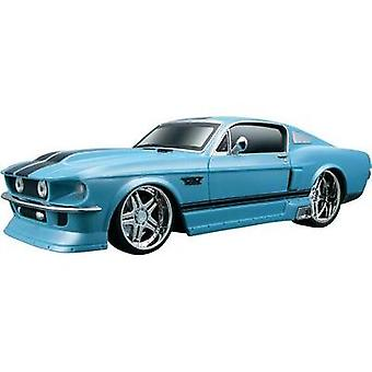 Maisto 581217-81061 Ford Mustang GT 1967 1:24 RC model car for beginners Electric Road version RWD