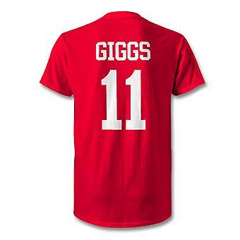 Ryan Giggs Man Utd legende Hero T-Shirt