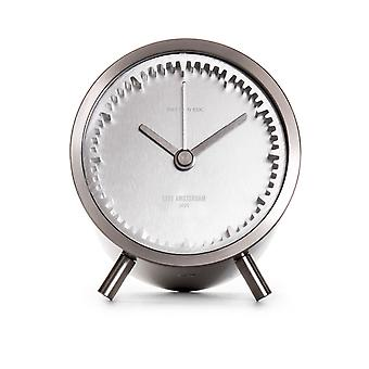 Leff Amsterdam Steel Tube Clock for Table
