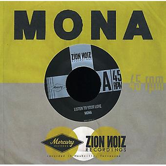 Mona - Listen to Your Love/All This Time [Vinyl] USA import
