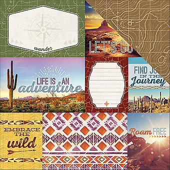 Southwest Adventure Double-Sided Cardstock 12
