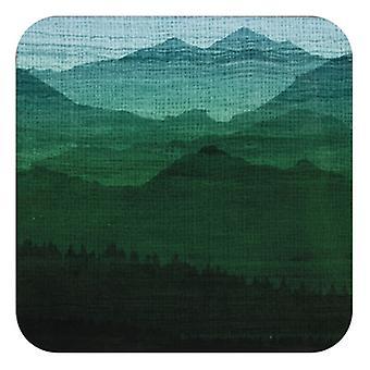 Ladelle Mountain Vista Coasters, Set of 4