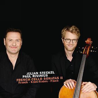 Steckel / Rivinius - French Cello Sonatas II [CD] USA import