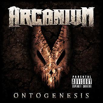 Arcanium - Ontogenesis [CD] USA importerer