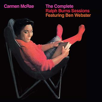 Carmen McRae - Carmen McRae: Complete Ralph Burns Sessions [CD] USA import