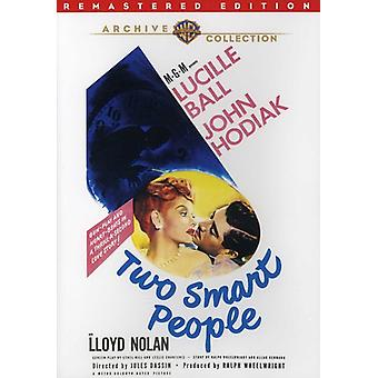 Two Smart People (1946) [DVD] USA import