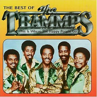 Trammps - Best of-This Is Where the Happ [CD] USA import