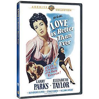 Miłość jest lepsze niż kiedykolwiek [DVD] USA import