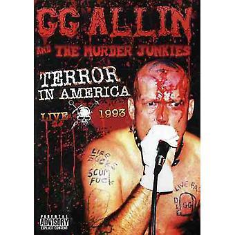 Gg Allin - Terror in America-Live 1993 [DVD] USA import