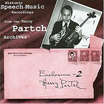 Enclosure 2: Historic Speech - Enclosure Two - Harry Partch [CD] USA import