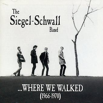 Siegel-Schwall Band - hvor vi gik (1966-70) [CD] USA importerer