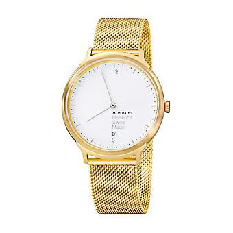 Mondaine Mens watch Helvetica No1 luce Holiday Edition MH1. L2211. SM