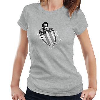 Suppleant begyndelsen Captain America kvinders T-Shirt