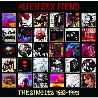 Fremmed Sex djævel - singler 1983-1995 [CD] USA importerer