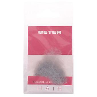 Beter 2 invisible hair nets, dark brown