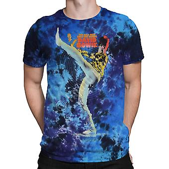Liquid Blue - BOWIE KICK - Tie Dye T-Shirt