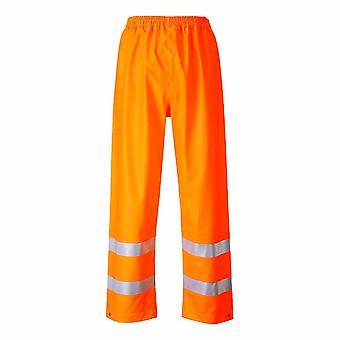 Portwest - Sealtex flamme motstandsdyktig sikkerhet Workwear Hi-Vis vanntett bukse