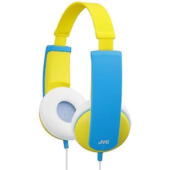 JVC auriculares estéreo de teléfonos pequeños niños - amarillo (HAKD5Y)
