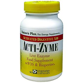 Natures Plus Acti-zyme vcaps 90 (UK)