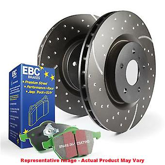 EBC rem Kit - S3 Greenstuff 6000 en GD rotoren S3KR1080 Fits: DODGE 2006-20