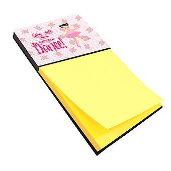 Carolines Treasures  BB5386SN Ballet Pigtails Sticky Note Holder