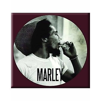 Bob Marley Fridge Magnet Circle logo new Official 76mm x 76mm