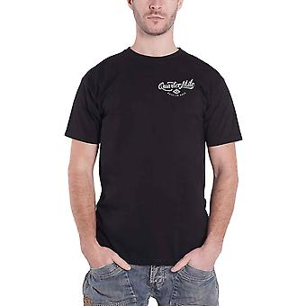 Quarter Mile T Shirt Methanol logo built to race new Official Mens Black