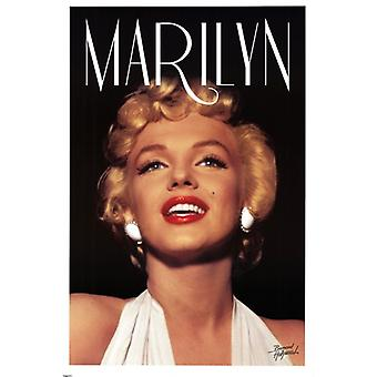 Marilyn Monroe - Head Shot Poster Poster Print by Bernard Hollywood