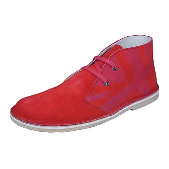 Start Rite Colorado II Girls Suede Classic Boots / Shoes - Red