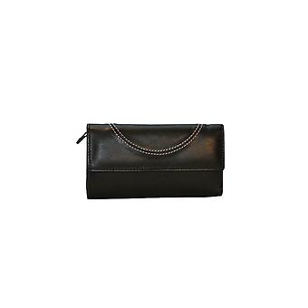 Eastern Counties Leather Womens/Ladies Layla Stitching Detail Purse