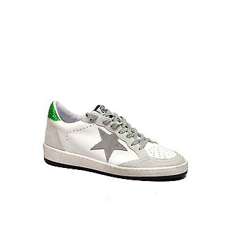 Golden Goose women's G32WS592F8 White leather of sneakers