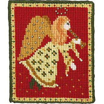 Christmas Angel Needlepoint Kit