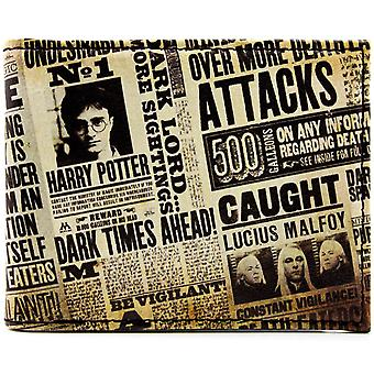 Warner Bros Harry Potter Tabloid ID & karty portfel Bi-Fold