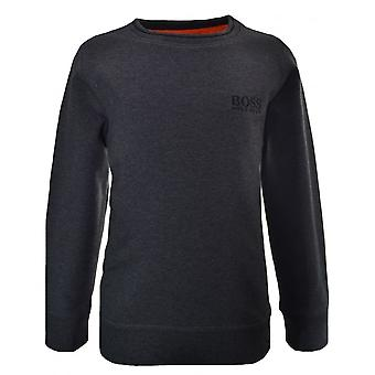 Hugo Boss Kids Hugo Boss Kids Dark Grey Sweatshirt