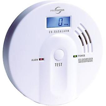 Gas detector Protector 20565 battery-powered detects Carbon monoxide