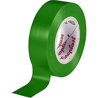 Electrical tape Coroplast Green (L x W) 10 m x 19 mm