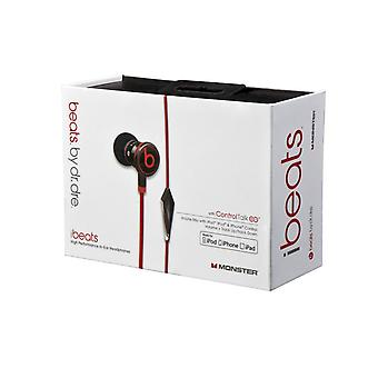 Beats by Dr Dre Monster – iBeats blisters in ear earphone headset for iPhone iPad iPod - Black