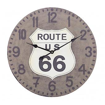 Balance wall clock 60 cm Route 66