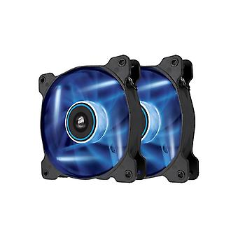 The Corsair Fan, SP120, Blue LED High Pressure Fan, Dual pack