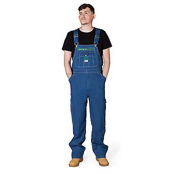 Liberty Stonewashed Denim Work Dungarees Mens Dungarees Bib Overall Big and Tall