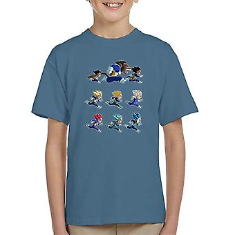 التنين الكرة ض التطورات القميص Vegeta كيد