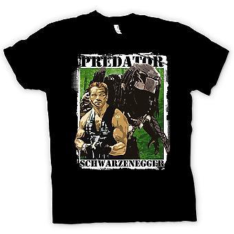 Koszulka męska - cudzoziemiec Predator - Schwarzenegger