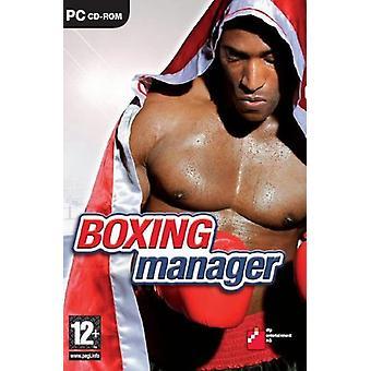 Manager de boxe (PC CD)