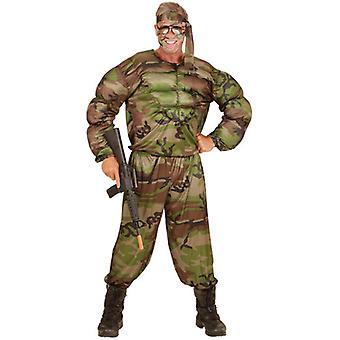 Super Soldier (Muscle Shirt Pants Headband)