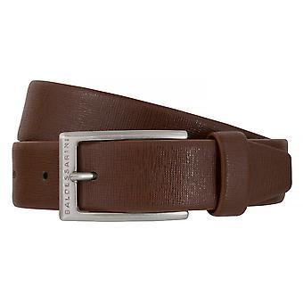 BALDESSARINI correa cuero cinturones hombre cinturones de cuero marrón 6493