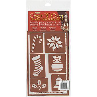 Over 'N' Over Reusable Stencils 5