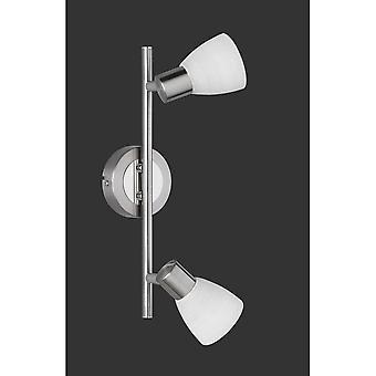 Trio Lighting Carico Modern Nickel Matt Metal Spot